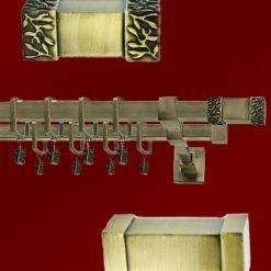 Galerii Metalice Patrate 25 mm